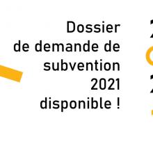 Demande de subvention 2021